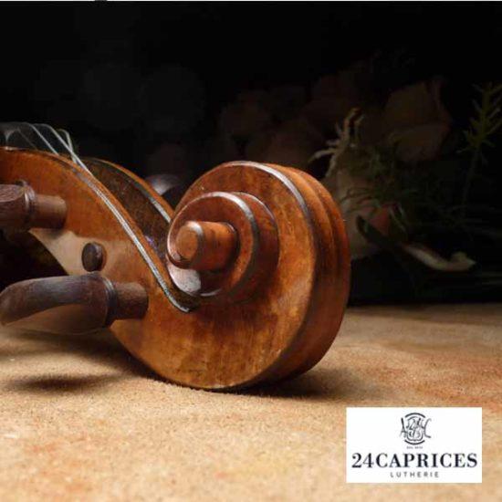 Fabrication, réparation et vente de violons, altos et violoncelles