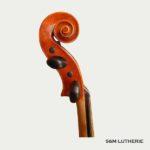 Détail du violon Passion Tradition, violon d'étude de bonne qualité