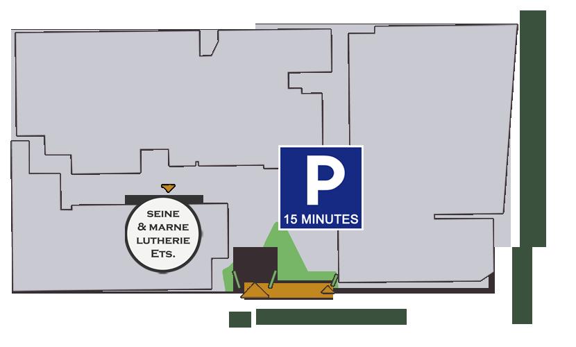 Comment nous rejoindre - Seine et Marne Lutherie