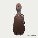 Luthier en Seine et Marne - coque violoncelle