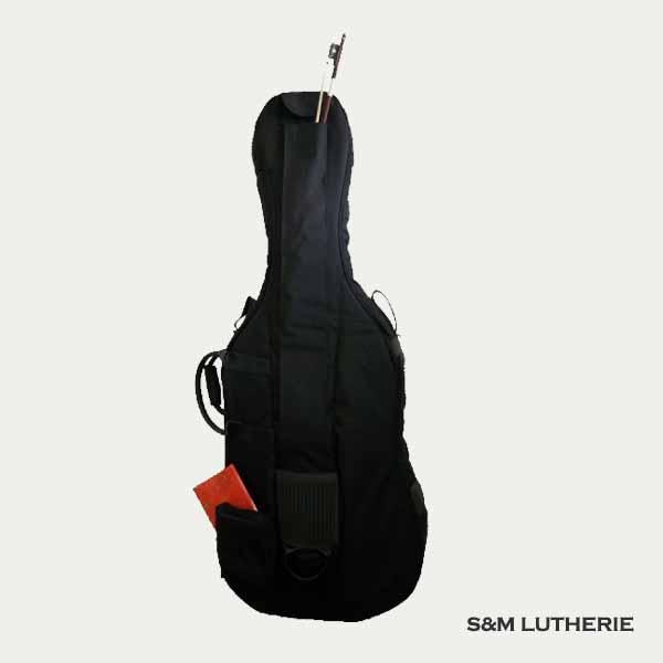 Housse violoncelle de bonne qualité, sélectionné sélectionné par le luthier 77