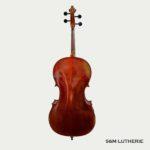 Violoncelle de bonne qualité, réglé par Seine et Marne Lutherie