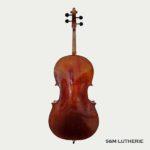 Violoncelle haut de gamme, réglé par Seine et Marne Lutherie