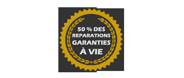Réparations garanties